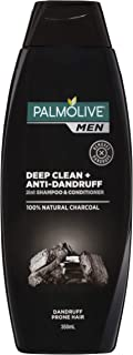 Palmolive Men Deep Clean + Anti-Dandruff 2 in 1 Shampoo & Conditioner, 350ml