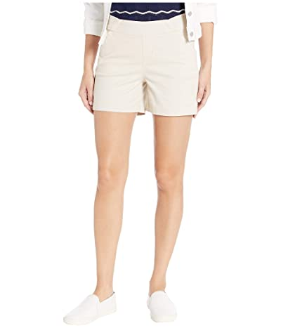 Jag Jeans 5 Gracie Pull-On Shorts in Twill (Stone) Women