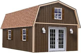 Richmond 16' x 28' Barn Wood Shed Kit