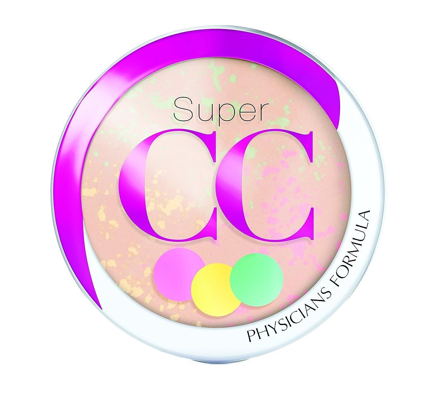曖昧な体系的に聖人PHYSICIANS FORMULA Super CC+ Color-Correction + Care CC+ Powder SPF 30 - Light/Medium