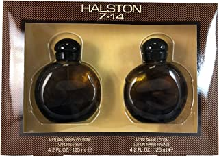 Halston Z-14 By Halston For Men. Set-cologne Spray 4.2 Ounces & Aftershave 4.2 Ounces