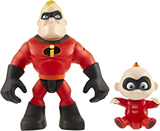 The Incredibles 2 Mr. Incredible & Jack-Jack Junior Supers Action Figure 2-Pack, Approximately 3