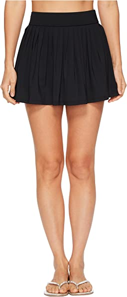 Kate Spade New York Solids #80 Pleated Skirt Cover-Up
