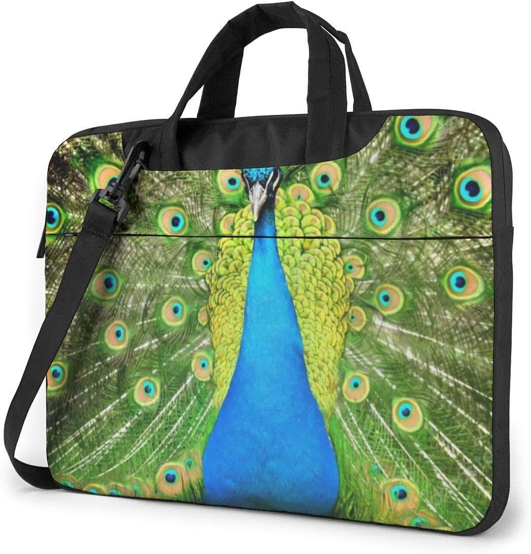 Office & School Supplies Carrying Cases Peacock On Protea Tree ...
