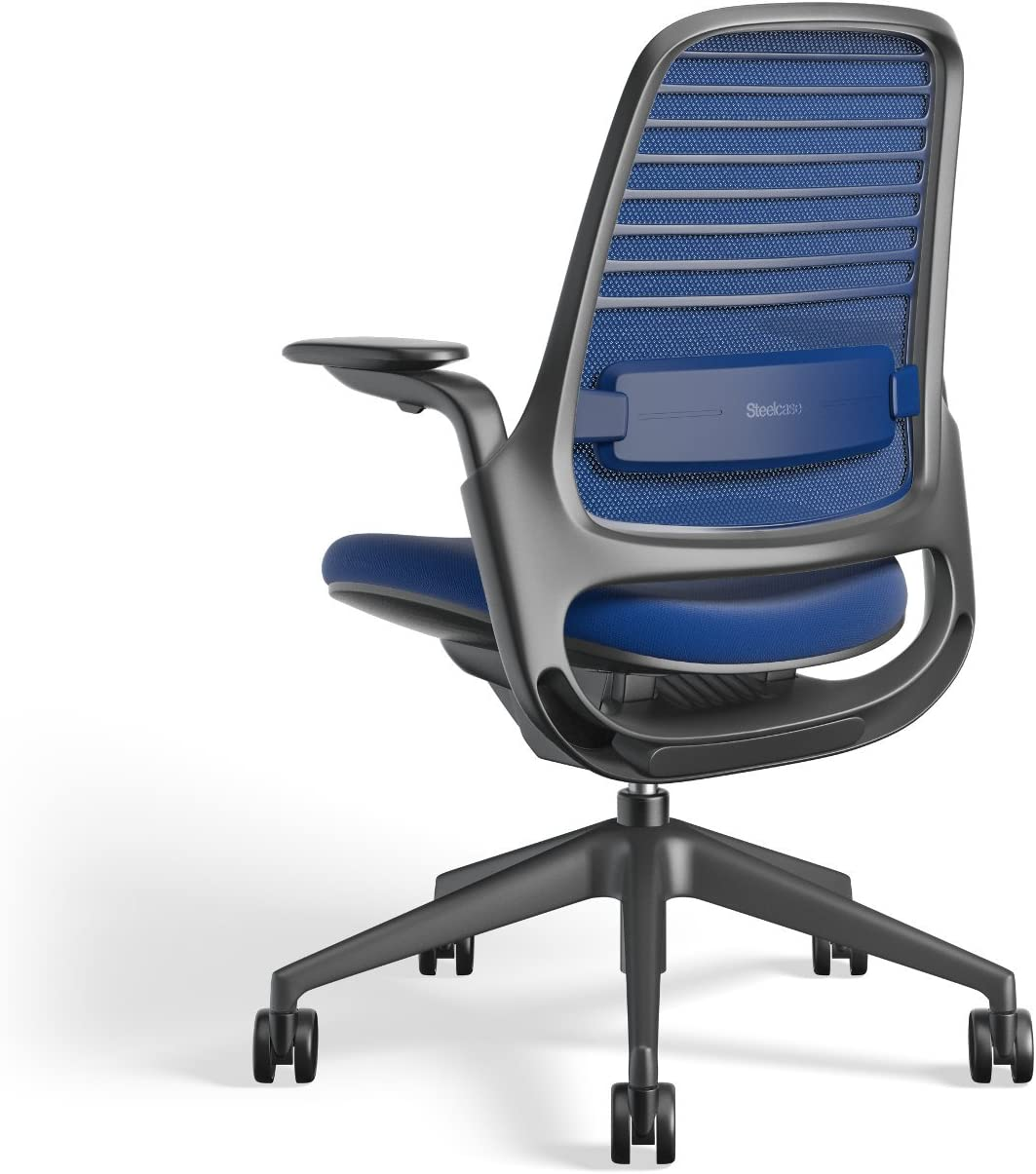 Steelcase 435A00 Series 1 Work Chair Office Blue Jay