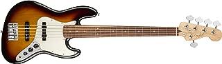 Fender Player Jazz Electric Bass Guitar V - Pau Ferro Fingerboard - 3 Color Sunburst