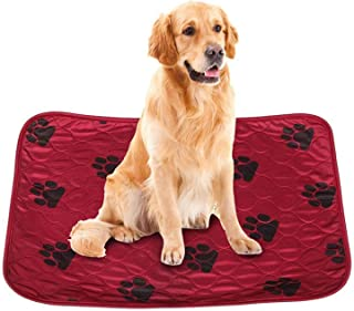 Pet Pee Pads Reusable Anti-Slip dog Pads Absorbent Leak-Proof Washable Pads for Potty Training