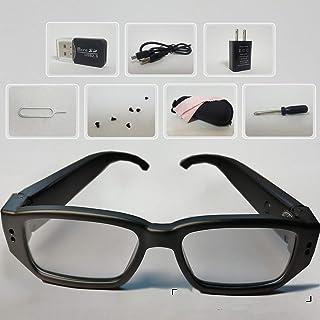 スパイカメラ メガネ 32GB内蔵 - 超小型隠しカメラ - 超小型隠しカメラ HD1080p - amazon スパイカメラ