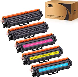 JARBO Compatible Toner Cartridge Replacement for Canon 046 046H CRG-046H CRG-046 Toner, Use with Canon Color ImageCLASS MF733Cdw MF731Cdw MF735Cdw LBP654Cdw Printer(5 Packs)