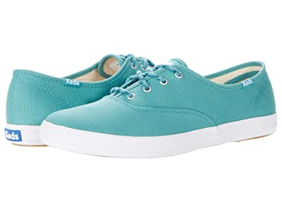 Keds Champion Seasonal Solids (Teal) Women