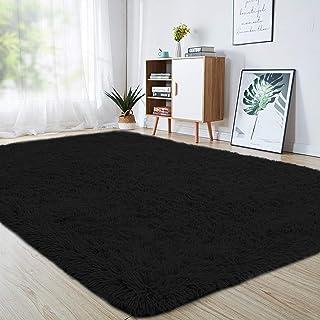 junovo Ultra Soft Area Rugs 4 x 5.3ft Fluffy Carpets for Bedroom Kids Girls Boys Baby..