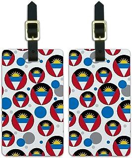 Graphics & More - Bandera nacional de Antigua y Barbuda, Blanco, Una talla