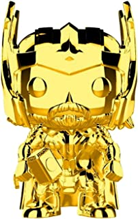 Funko Pop Marvel: Studios 10 - Thor (Gold Chrome) Collectible Figure, Multicolor, Standard