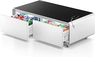 PRIMST Refrigerator Coffee Table, Elegant White