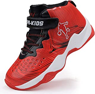 8db107b990d Brand Gold Boys Sneakers Basketball Shoes Children Rubber Outdoor Sports  Shoes Basket Ball Shoes Kids
