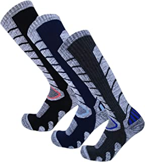 Ski Socks - Skiing Socks, Snowboard Socks for Womens/Mens Hiking, Cold Weather, Winter Outdoor Sports