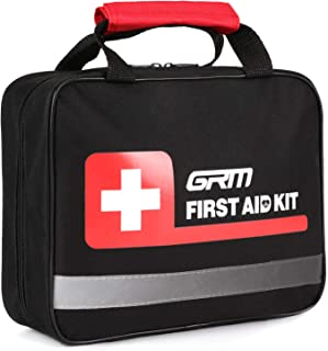 GRM Upgraded 465 Pieces First Aid Kit for Emergency at Home, Office, Outdoors, Car, Camping, Workplace, Hiking and Survival