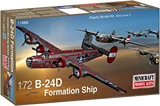 Minicraft B-24D USAAF Formation Ship Model Kit (1/72 Scale)