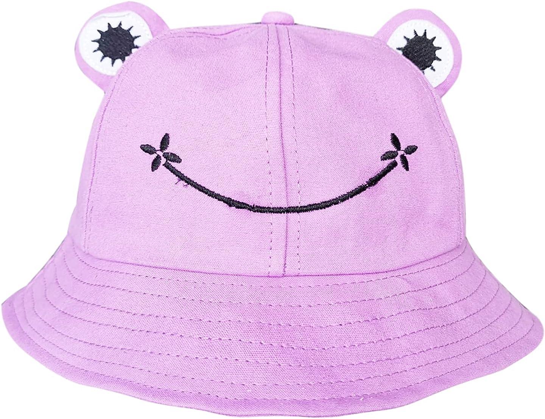 Large-scale sale Jiuhong Cheap sale Adult Cute Frog Bucket for Sun Fisherman Hat