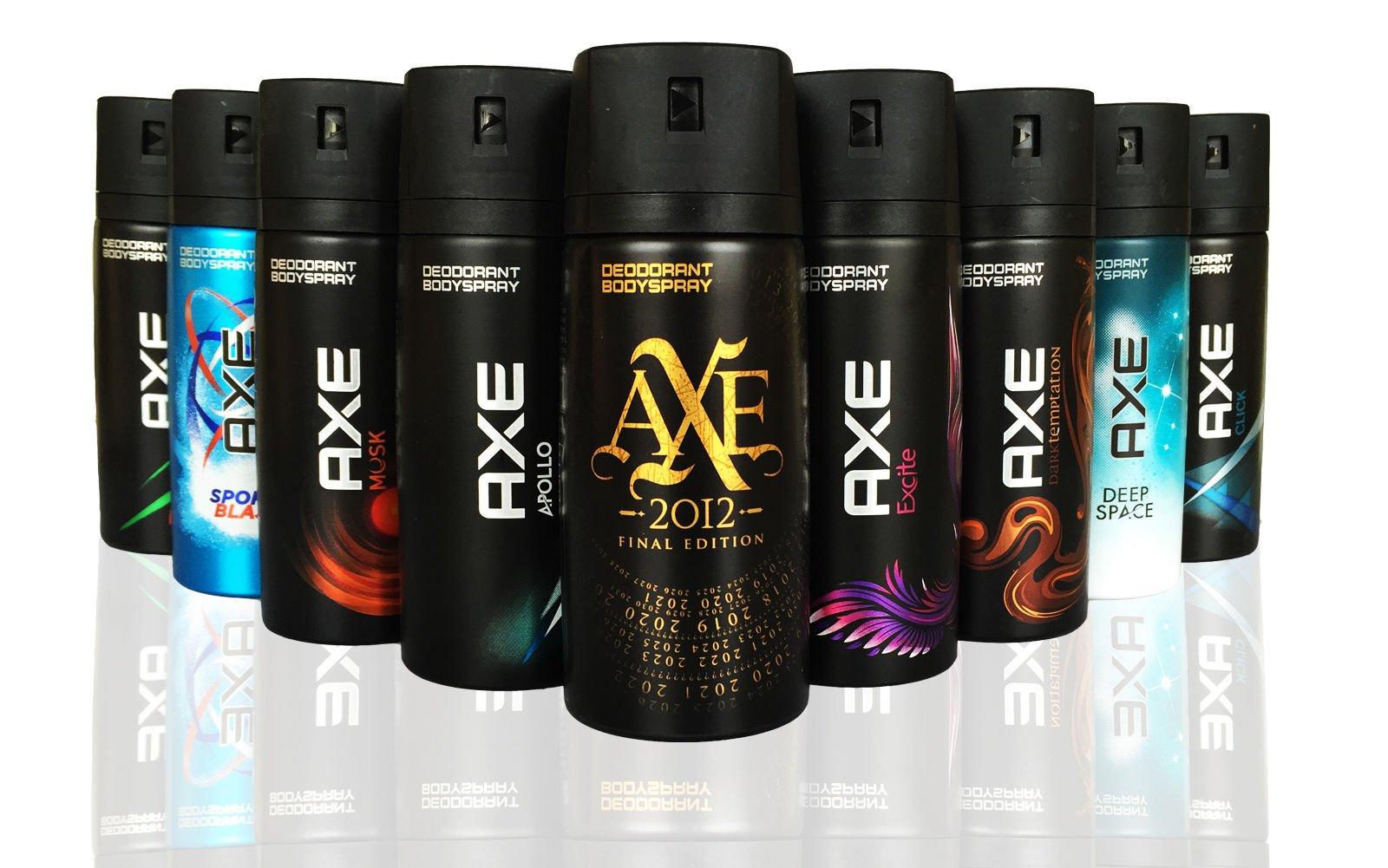 AXE Body Spray within available