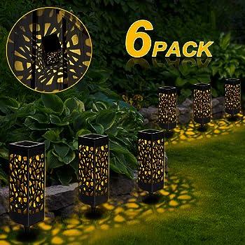 Luce Solare Jardín GolWof Lámpara Solar para Jardín Búho con Alas ...