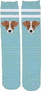 Adorable Dog Breed Specific Novelty Knee High Socks