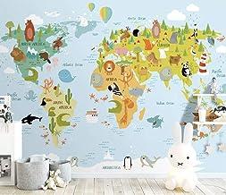 Kids Wallpaper Cartoon Nightscape Wall Mural For Child Daisy Wall Art Children Rooms Girls Boys Bedroom Nursery
