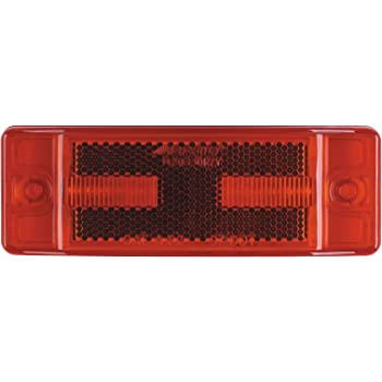 Maxxima M20350R 12 LED Red 4 Rectangular 2 Pin Clearance Marker Light