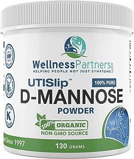 Now New UTI-Slip D Mannose Non GMO Organic Source Powder 130g jar.
