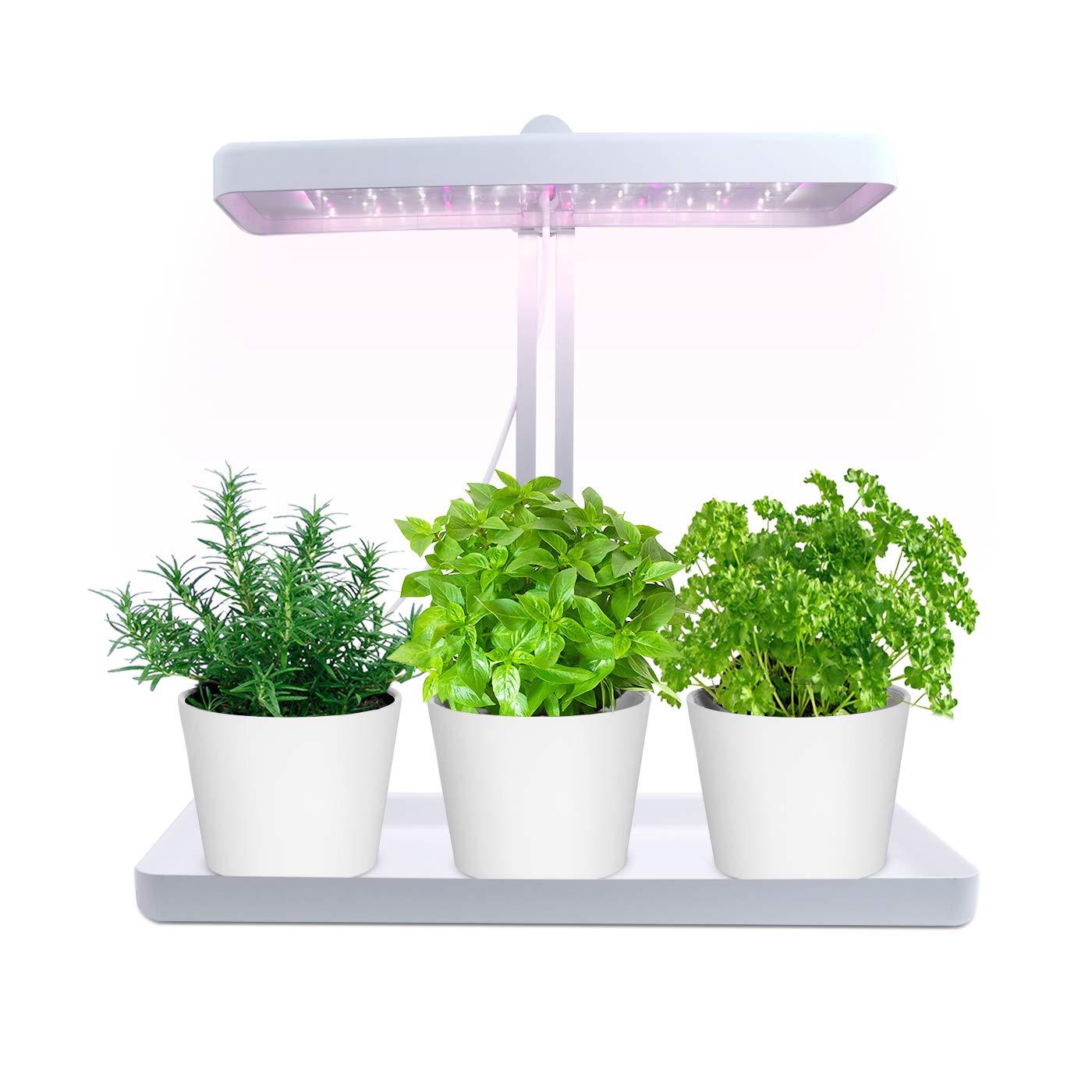 Igrowtek Indoor Smart Herb Garden Led Grow Light For Herb