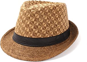 Summer Straw Women Men Boater Beach Sun Hat for Gentleman Elegant Lady Sun Fedora Hat Garland Sunbonnet Panama Cap