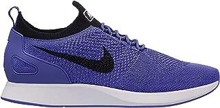 Mens Air Zoom Mariah Flyknit Racer Running Shoes (8.5 M US, Persian Violet/Black-White)