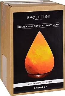 2Pack! Evolution Salt Crystal Salt Lamp - Raindrop - 1 Count