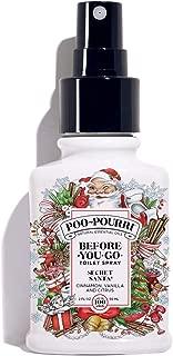 Poo-Pourri Before-You-Go Toilet Spray, Secret Santa Scent, 2 oz