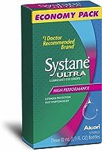 Systane Ultra Lubricant Eye Drops .33 fl oz (10 mL Bottle) (3 Bottles Total)