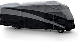 Camco ULTRAGuard Supreme Cover-Extremely Durable Design Fits Class C Model RVs 23' -26', Weatherproof with UV Protection and Dupont Tyvek Top (56114)