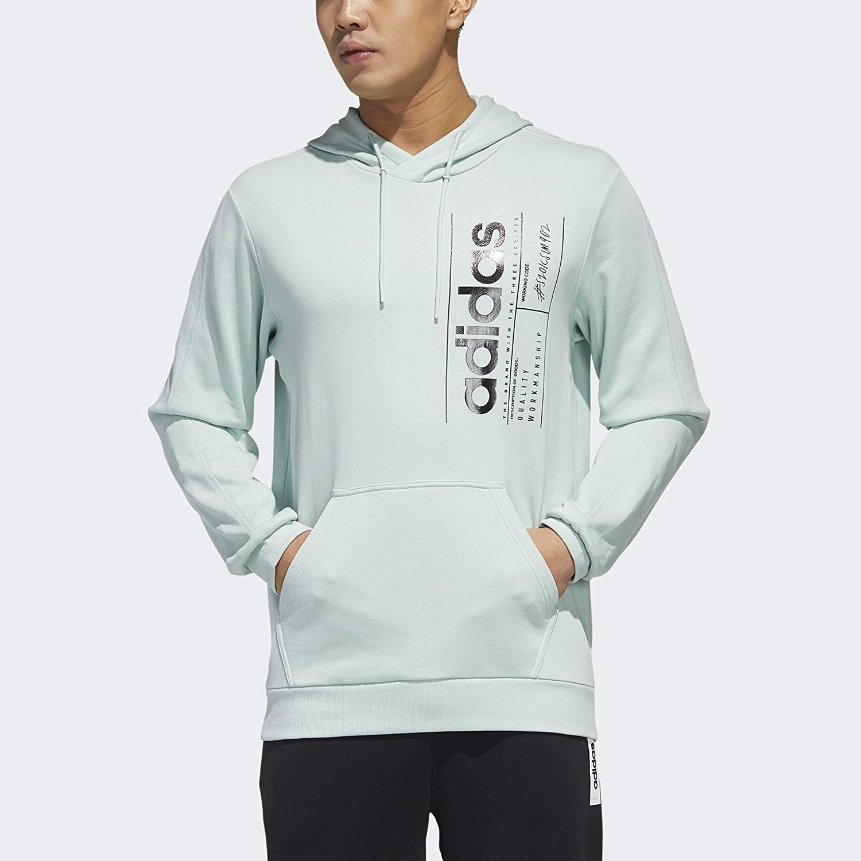 adidas Max 60% OFF Men's Brilliant Hooded Sweatshirt Basics 5 ☆ popular