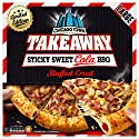 Chicago Town Large Takeaway Stuffed Crust Sticky Sweet Cola BBQ Pizza, 650 g (Frozen)