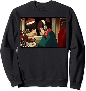 LOFI HIP HOP CHILL JAZZ HOP BEATS TO RELAX TO LOFI GIRL Sweatshirt