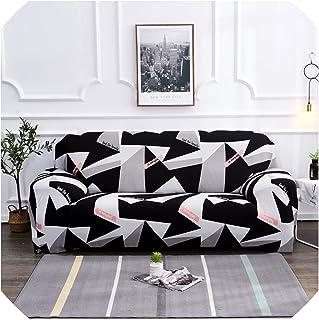 Universal Elastic Sofa Covers for Living Room Sofa Towel Slip Resistant Sofa Cover Stretch Sofa Slipcover,Colour21,4-Seater 235-300Cm