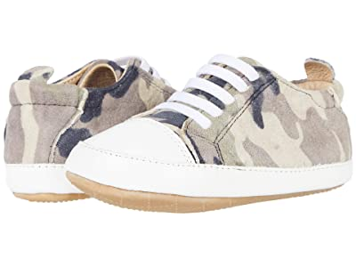 Old Soles Eazy Jogger (Infant/Toddler) (Army Camo/Snow) Boys Shoes