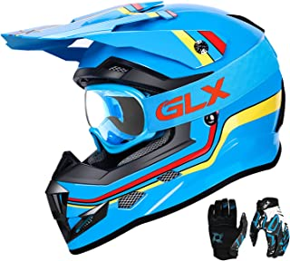 GLX Unisex-Child DOT Kids Youth ATV Off-Road Dirt Bike...