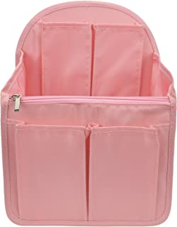 YIICOOLY バッグインバッグ リュック A4 b4 c4 収納整理 大容量 軽量 ナイロン インナーバッグ インナーポケット 収納力抜群 仕分け デイパック・ザックに便利 メンズ レディース Organizer Bag in Bag