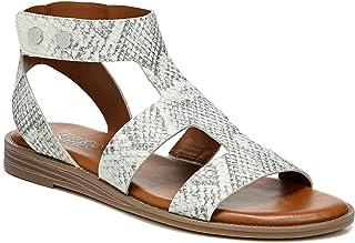 Franco Sarto Womens Genevia Natural Sandals 5.5 M