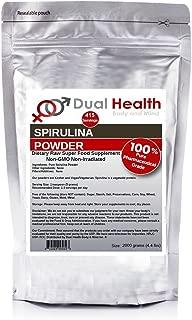 Pure Spirulina Powder (2kg (4.4 lbs)) Protein Superfood Bulk Supplements