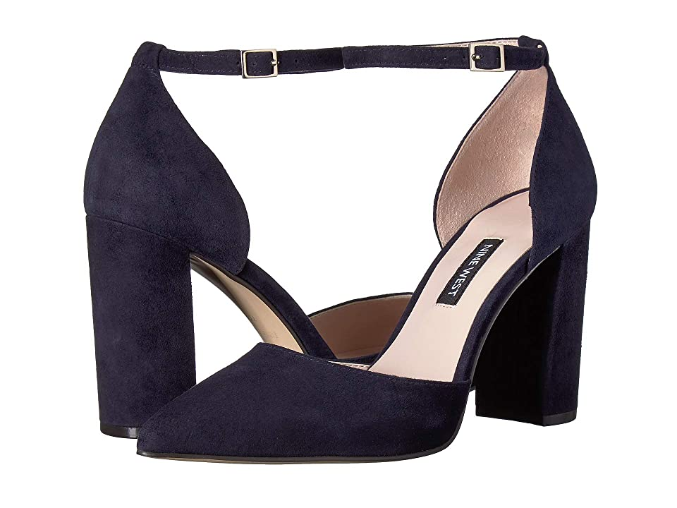Nine West Ailamina (Navy Suede) Women