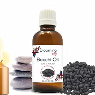 Babchi Oil 30 ML Essential Oil 100% Pure Natural Undiluted Aromatherapy Massage Oil By Blooming Alley - 30 ML