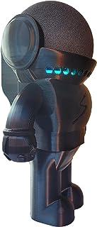 Suporte Stand De Mesa Splin para Alexa Smart Speaker Echo Dot 4ª geração -Amazon- Robô Astronauta Astro Herói (branco)