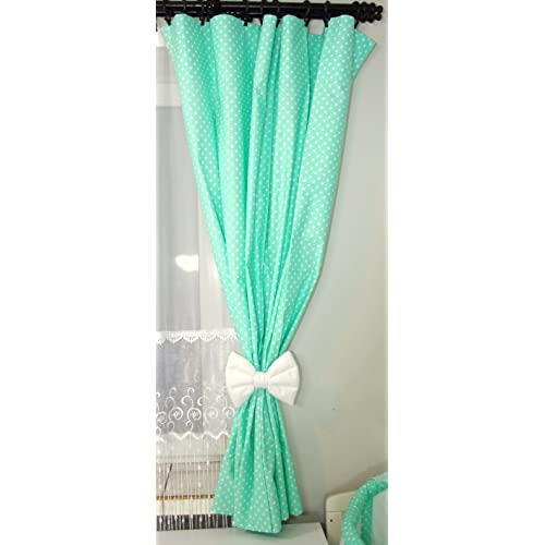 Mint Green Curtains Amazon Co Uk