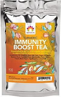 Shifa Turmeric Immunity Boost Tea: Handcrafted with Herbs, Phytonutrients and Antioxidants (1.5 oz.)